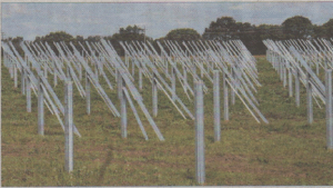 The new Solar farm near Chestfield