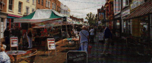 "Herne Bay town centre - ""People are benefiting from the higher quality of life by the sea"""