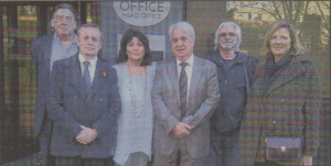 PUTTING UP A FIGHT: Whitstable delegation met senior staff of Post Office Ltd