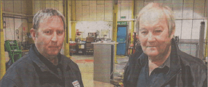 Nick and David Sutton of Volksllne in Canterbury's Broad Oak Road