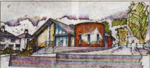 Sketch of the proposed Community Centre