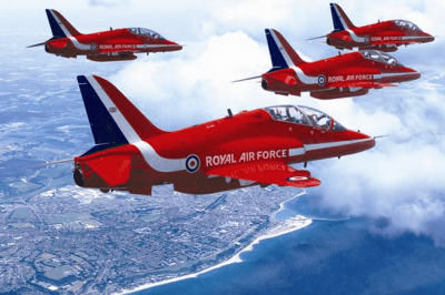 The world famous Red Arrows