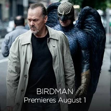 Birdman on HBO Now