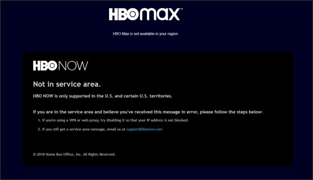 hbo now and hbo max error
