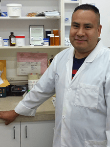 Jorge Moran is our lead compounding technician at HB Pharmacy.
