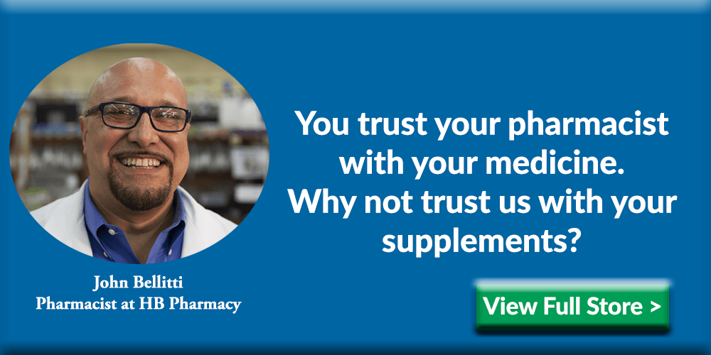 Gaspar's Best Supplements - High quality supplements designed by pharmacists.