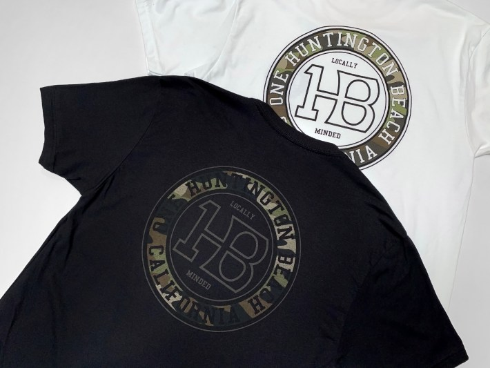 Black with Camo OneHB Logo