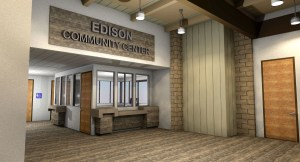 Edison Community Center Rendering