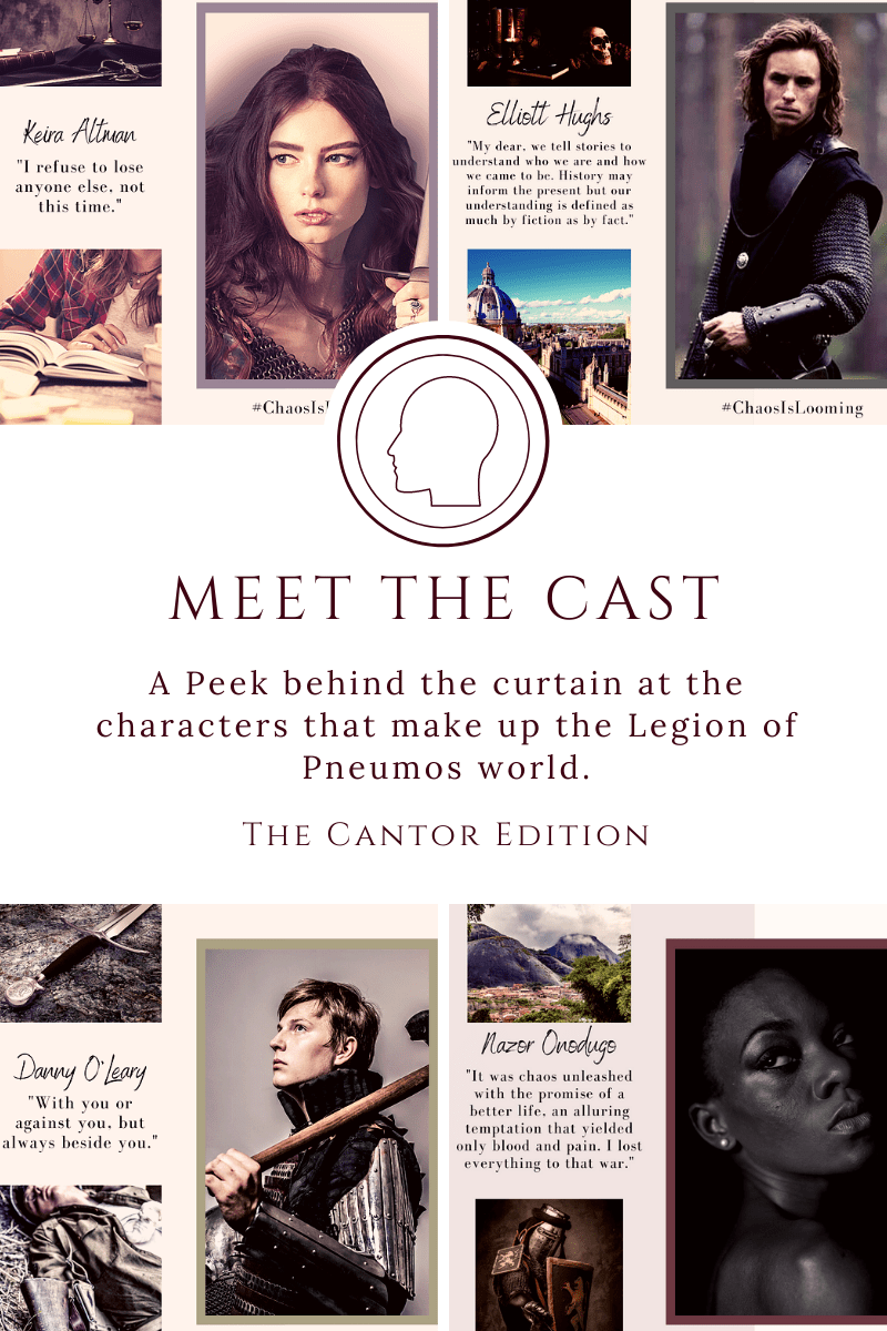 Meet the Cast – The Cantor Edition