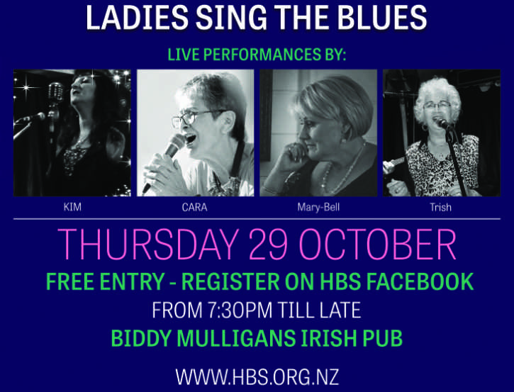 HBS Ladies Sing The Blues poster