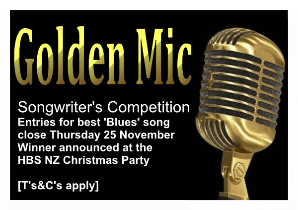Golden Mic Songwriter's Competition 2021