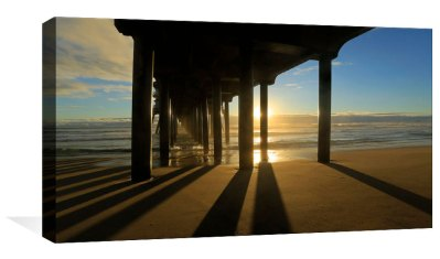 Reflecting Under the Pier