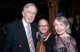 Fritz Weaver, Rochelle Oliver, and Helen Gallagher at 70th Anniversary Celebration for HB Studio, provider of NYC acting classes