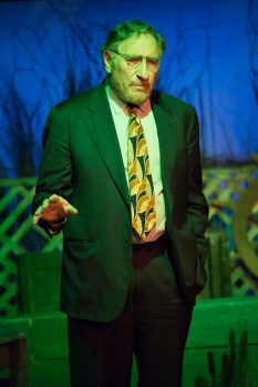 A close-up of Judd Hirsch onstage at Talley's Folly, a benefit for HB Studio, provider of acting classes in NYC