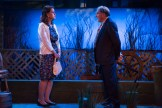Kathryn Danielle and Judd Hirsch facing each other onstage in Talley's Folly, a benefit for HB Studio, provider of NYC acting classes