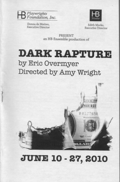 Dark Rapture - HB Studio