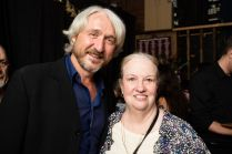 Jordi Muiki and Letty Ferrer at the 90th birthday celebration for Helen Gallagher, HB Studio teacher of Singing for the Musical Theater