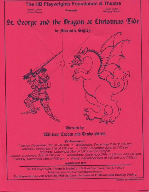 St. George and the Dragon at Christmastide - HB Studio