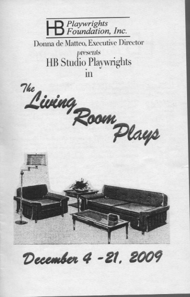 The Living Room Plays - HB Studio