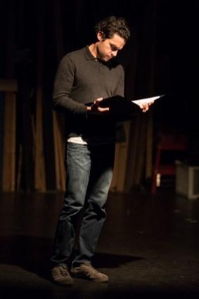 Christopher Abbott reading.