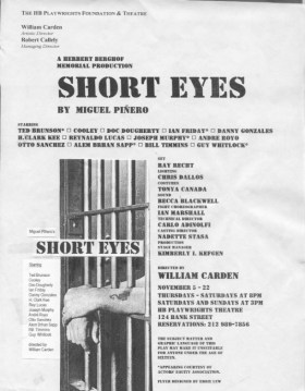 HB Studio Production- Short Eyes