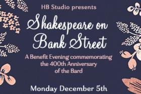 HB Studio Benefit- Shakespeare on Bank Street