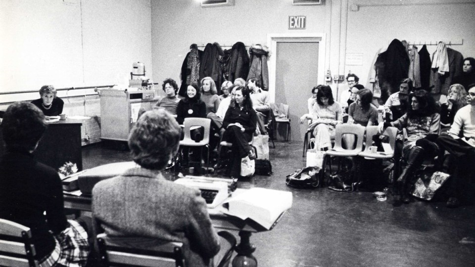 Uta Hagen teaching at HB Studio