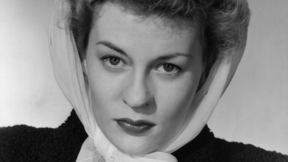 Headshot of Uta Hagen
