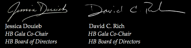 Jessica Douieb and David C. Rich HB Gala Co-Chairs