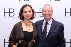 Anya and Alexander Bernstein at HB Studio's Uta Hagen at 100 Gala