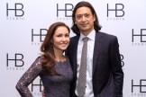 Jessica and Sebastién Douieb at HB Studio's Uta Hagen at 100 Gala