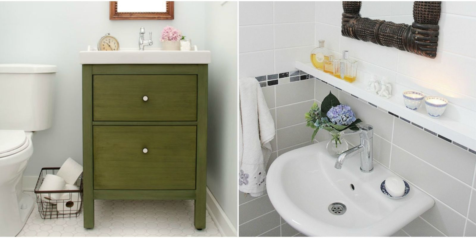 11 IKEA Bathroom Hacks New Uses For IKEA Items In The