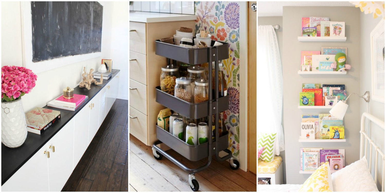 Storage Solutions With IKEA Products