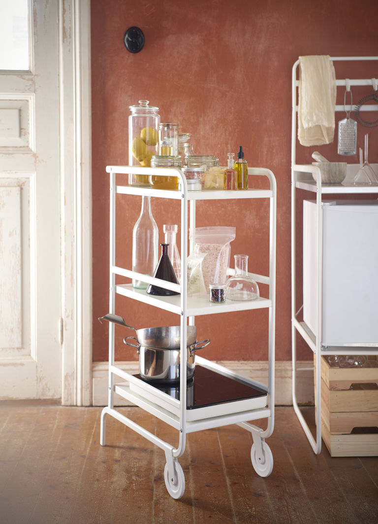 ikea mini-kitchen cart, sunnersta