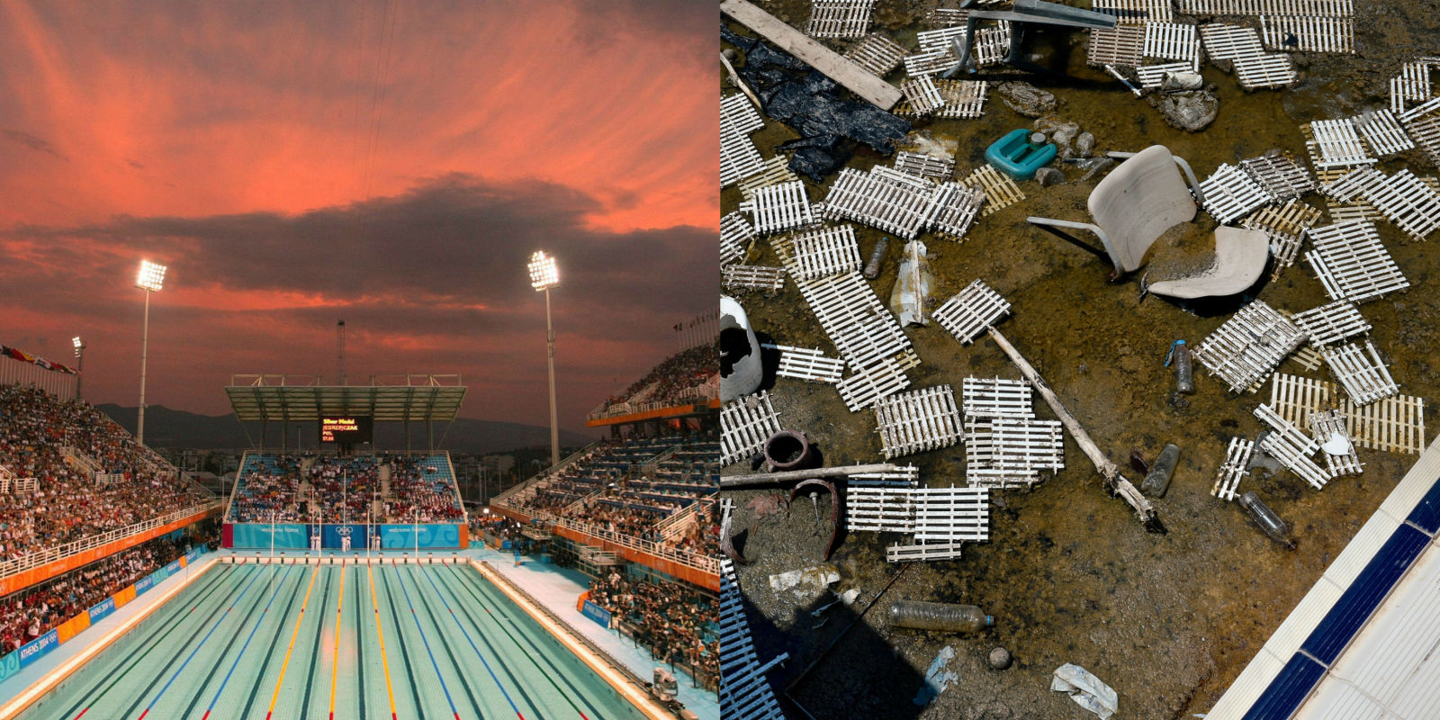 What Old Olympics Venues Look Like Today Abandoned