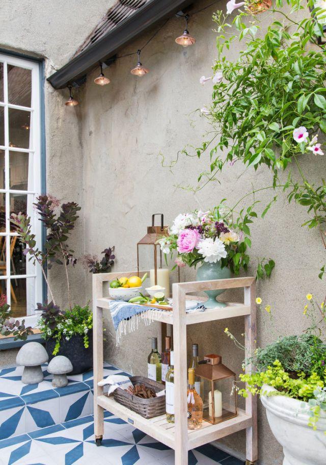 Emily Henderson's patio