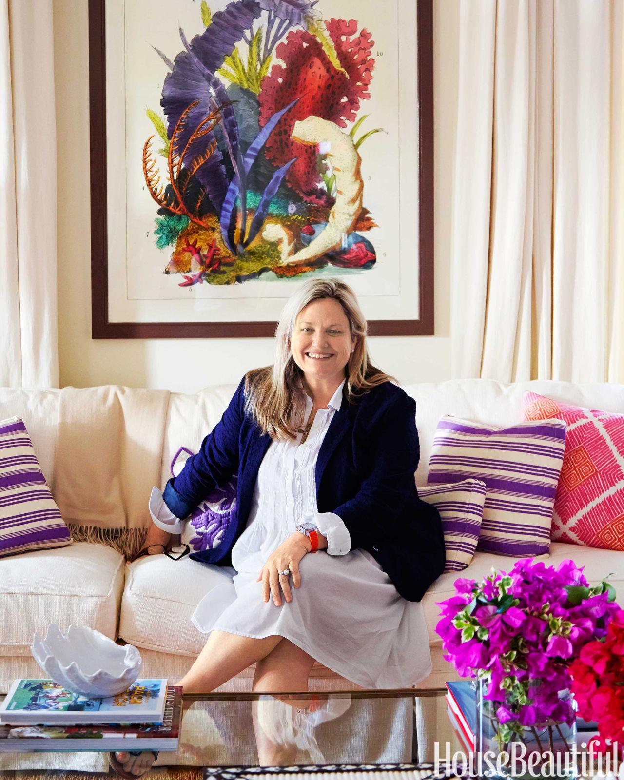 Colorful Bahamas House Amanda Lindroth Interior Design