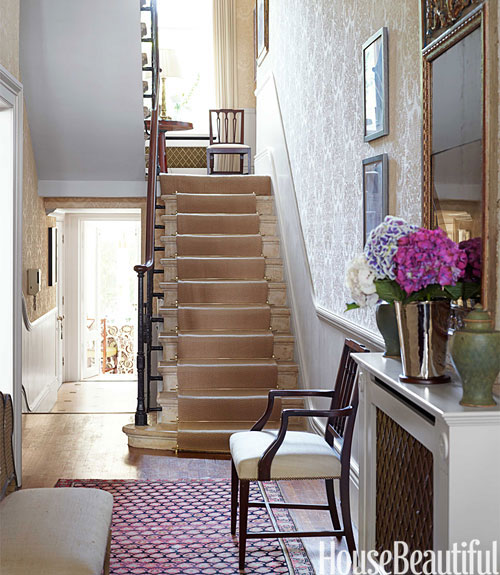 Entry In London Townhouse House Beautiful Pinterest