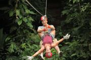 zip-line, swinging from trees, zip-line vacation, vacation ideas, vacation deals