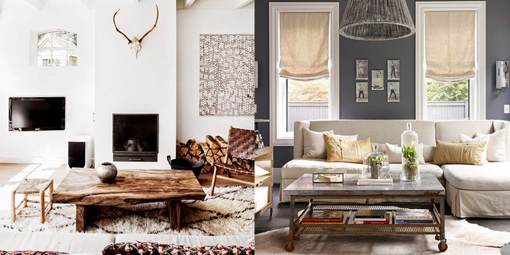 Rustic Chic Home Decor And Interior Design Ideas