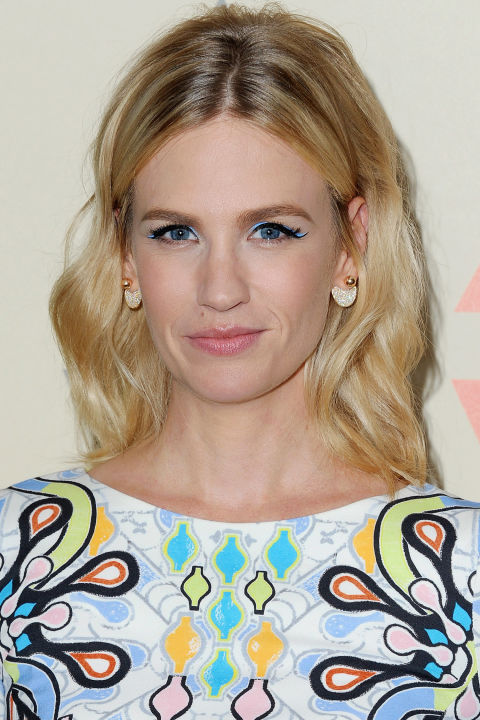We're going to give the try-hard ombré trend from a few years back the benefit of the doubt and assume it meant to look more like January Jones' cool, casual, multi-tonal color, but lost the plot somewhere along the way. Good news is, this is way easier—add lowlights to the roots and subtle highlights to the ends or just start spacing out your touch-up appointments and embracing regrowth.