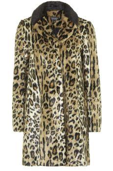 Topshop coat, $170, topshop.com.