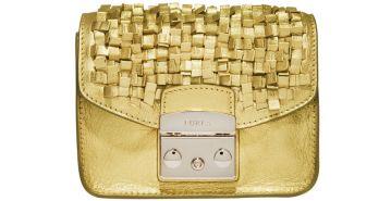 Furla bag, $528, furla.com.