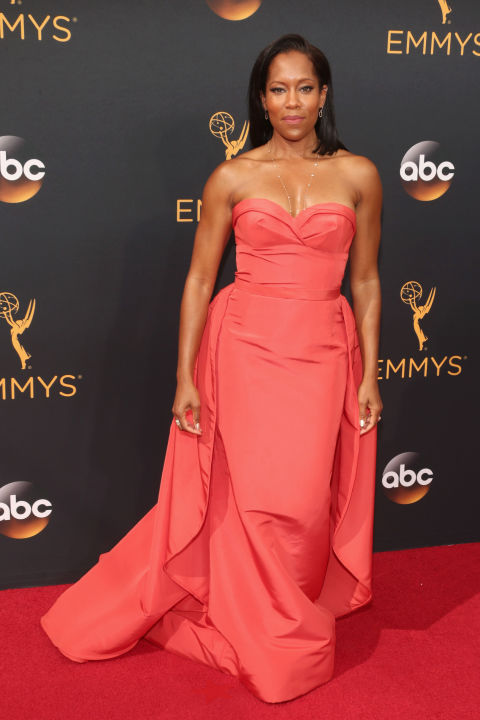 Image result for regina king at the emmys 2016