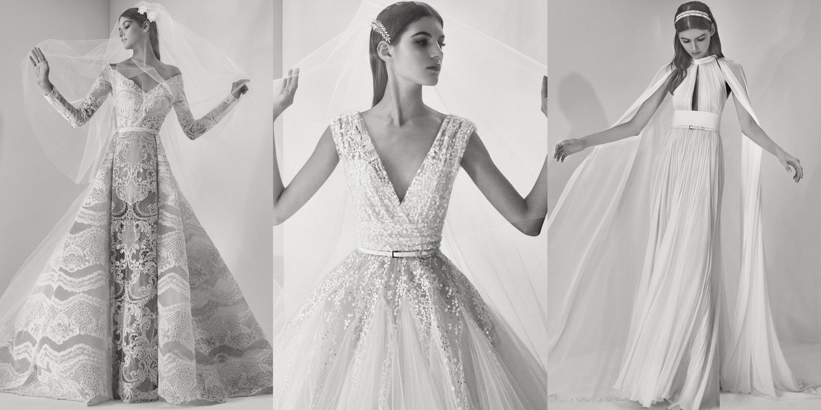 See Every Look From Elie Saab Fall 2017 Bridal
