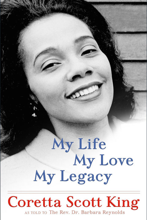 Twenty years ago, journalist Barbara Reynolds began interviewing the widow of Martin Luther King, Jr., and those revelatory tapes have now become the definitive written account of the life of an influential, under-appreciated heroine of American history. From her ambitious upbringing in the Deep South and her loving marriage and tragic loss thereof, to her resilient assumption of her late husband's causes and the founding of the Martin Luther King, Jr. Center for Nonviolent Social Change, Coretta Scott King endured as one of the nation's great champions, through the trials of the civil rights era and beyond. My Life, My Love, My Legacy by Coretta Scott King,  $30, indiebound.org on January 17.