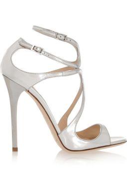 Jimmy Choo sandals, $850, net-a-porter.com.