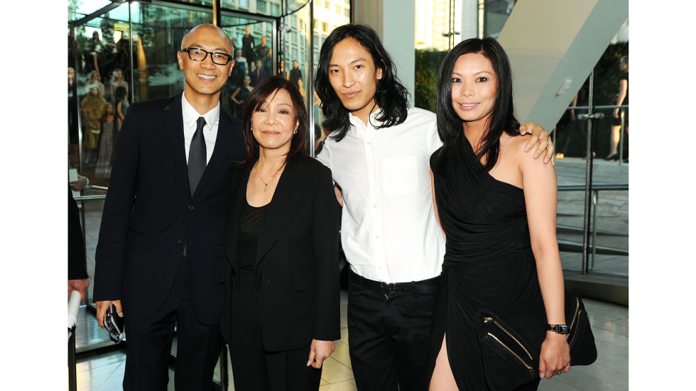 Wunderkind Alexander Wang launched his eponymous line in 2007. Born to Taiwanese-American parents—who now own manufacturing facilities in China—in San Francisco in 1984, Wang moved to NYC to attend Parsons School of Design. Wang works alongside his brother Dennis, who holds the title chief principal officer, and sister-in-law and CEO Aimie—parents to an oft-photographed, very fashionable little girl.