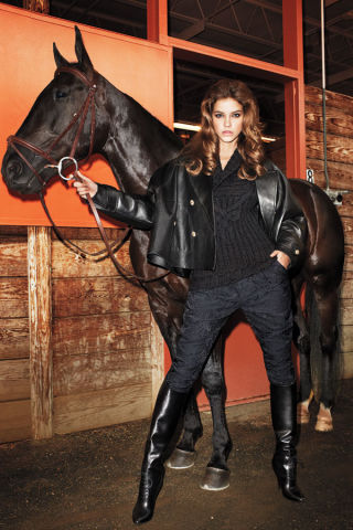 Equestrian Trend Fashion Shoot Fall 2012 Equestrian Tend