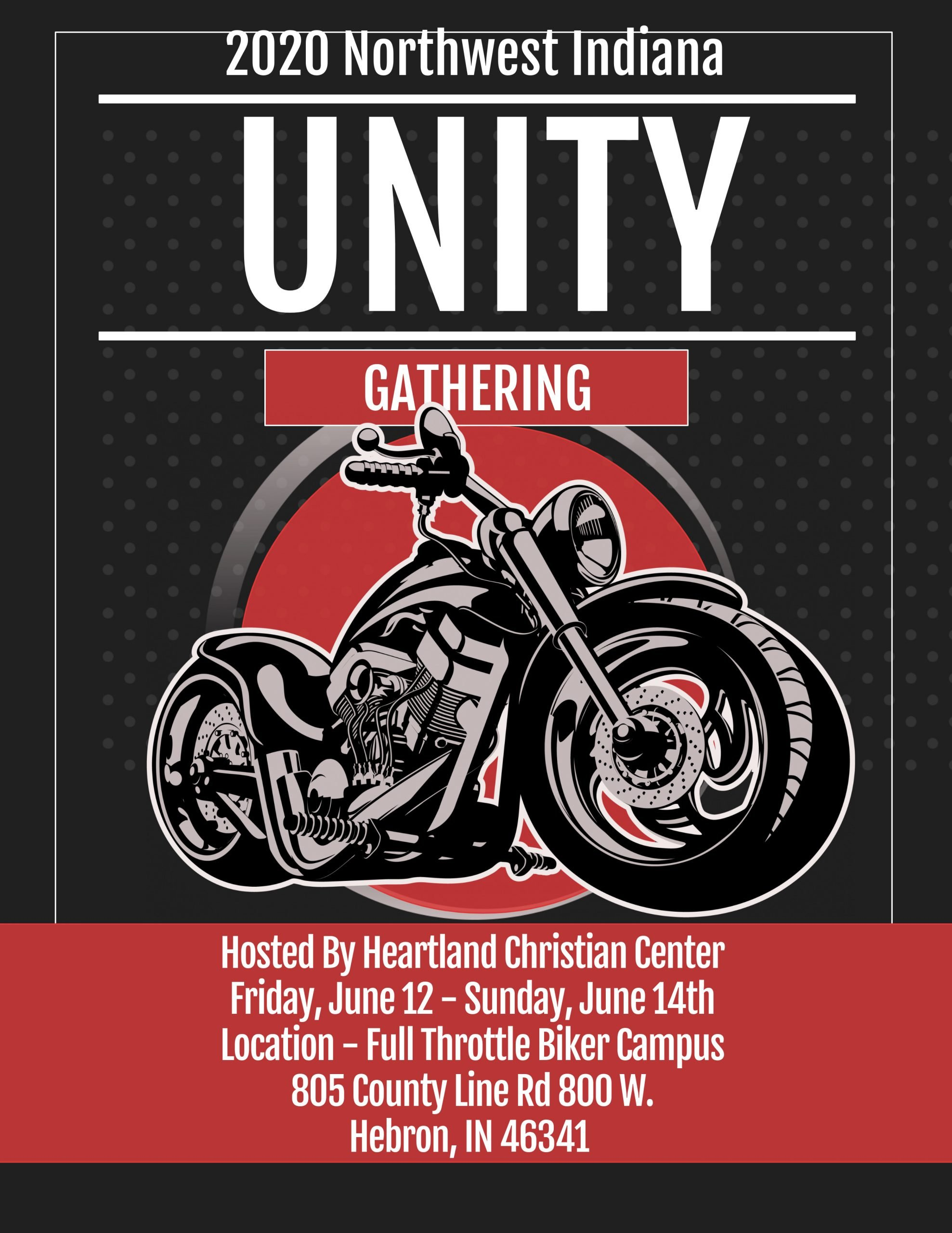 The 2020 Biker Unity Gathering in North West Indiana